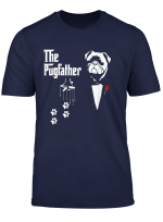 The Pugfather Shirt The Dogfather Dog Dad Pet Lover Gift Tee