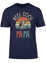 Reel Cool Papa T Shirt Vintage Fisherman Father S Day Gift