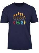 Periodensystem Schach T Shirt Schach Geschenk Shirt