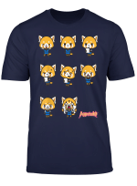 Aggretsuko Current Mood Office T Shirt