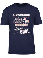 Damen Sanitater Tshirt Lustig I Rettungssanitater Sanitaterin