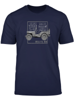 Willys Mb Jeeps Ww2 Vintage T Shirt