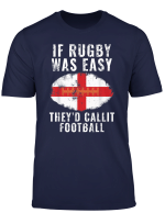 Funny England Rugby T Shirt