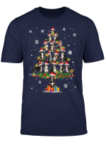 Funny Bernese Mountain Christmas Tree Hat In Snow Santa Xmas T Shirt