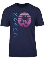 Vaporwave Aesthetic Japanese Relax T Shirt