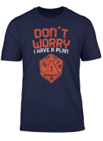 Gamer Master Wurfel T Shirt Dnd Rpg Spiele Pen And Paper Fun