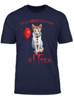 We All Meow Down Here Clown Cat Kitten