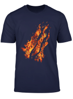 Fire Nation Video Gamer Flaming Fire For Video Game Lovers T Shirt