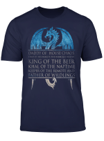 Mens Father Of Wildlings Shirt Perfect Daddy Father Day Gift T Shirt