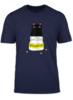 Womens Black Cat Antidepressant T Shirt