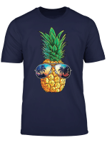 Ananas Sonnenbrille T Shirt Aloha Beaches Hawaiian Hawaii