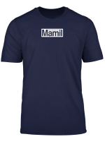 Mamil Middle Aged Main In Lycra Cycling Tee White Logo