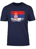 Serbien Flagge Tshirt Fur Manner Frauen Und Kinder T Shirt
