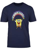 Spongebob Squarepants I Dont Care Rainbow T Shirt