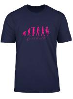 Die Evolution Der Fussballspielerin Und Des Frauenfussball T Shirt