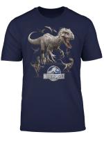 Jurassic World Indominus Rex Raptor Run T Shirt