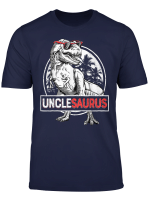 Unclesaurus T Shirt T Rex Uncle Saurus Dinosaur Men Boys
