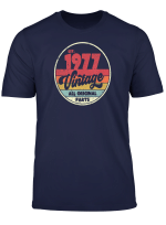 1977 Vintage T Shirt Birthday Gift Tee Retro Style Shirt