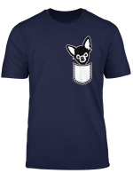 Chihuahua Pocket T Shirt