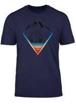 Surfer Bus Surfbrett Wellenreiten Und Hippie Bus T Shirt