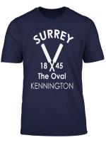 Surrey Cricket Vintage T Shirt English County Top