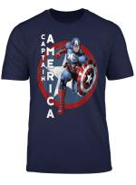 Marvel Captain America Avengers Step Graphic T Shirt
