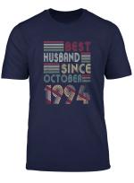 Mens 25Th Wedding Anniversary Gifts Husband Since October 1994 T Shirt