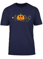 Nurse Doctor Stethoscope Pumpkin Funny Nursing Halloween T Shirt