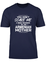 You Don T Scare Me I Was Raised By An Armenian Mother Funny T Shirt