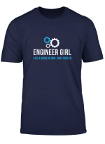 Engineering Girl Shirt Funny Cute Engineer Gift