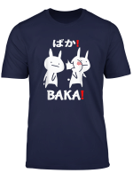 Lustiges Anime Japan Baka Rabbit Ohrfeigen Anime Und Manga T Shirt