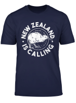 New Zealand Is Calling Neuseeland T Shirt
