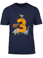 Kinder Geburtstagsshirt 3 Jahre Junge Dinosaurier Dino
