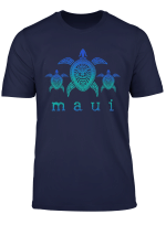 Maui Hawaii Sea Turtles Hawaiian Scuba Diving Souvenir T Shirt