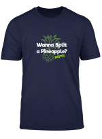 Psych Wanna Split A Pineapple Funny T Shirt Official Tee