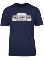 Lowrider 64 Impala Rear T Shirt Dark Shirt