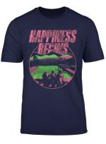 Tee Vintage Gift Happiness Begin Tour T Shirt T Shirt
