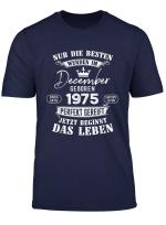 44 Geburtstag Geschenk Legendar Seit Dezember 1975 T Shirt