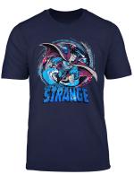 Marvel Doctor Strange Classic Retro Magic Warp Logo T Shirt