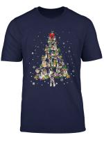 Cute Miniature Schnauzer Dog Christmas Tree Gift Decor Xmas T Shirt