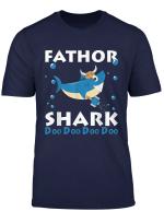 Kyo Fathor Shark Shirt Father S Day Gift Viking Family Shark T Shirt