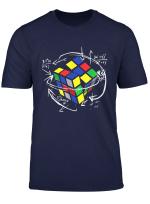 Rubik Cube Formulas Math Teacher Shirts