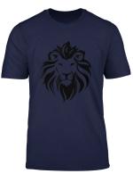 Lion Head Roar T Shirt For Men Women Kids