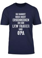 Herren Lkw Opa Tshirt Lustig Spruch Lastwagen Trucker Erschrecken