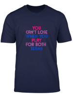 Play For Both Teams Bisexual Pride 2019 T Shirt