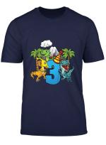 Kinder Geburtstagsshirt 3 Jahre Junge Dinosaurier Dino Geschenk T Shirt