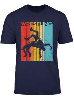 Retro Vintage Wrestling Player Gifts Men Women Youth T Shirt