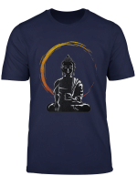 Buddha Buddhist T Shirt Meditation Zen Yoga Tee