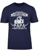 Herren Landwirt Bauer Beruf Traktor Vater Papa Spruch Geschenkidee T Shirt