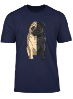 Pug Black And White Shirt Pug A Half Black And Pug A Half